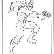 Power Ranger atirando