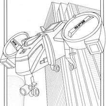 O  helicóptero Power Ranger