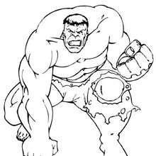 Hulk com toda sua força