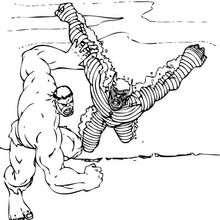 O Hulk com o Abominável