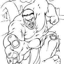 O Hulk correndo
