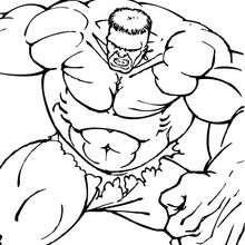 marvel, O incrível Hulk mostrando seus músculos