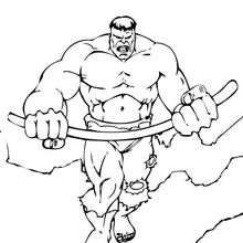 O Hulk armado
