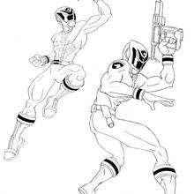 Power Rangers armados