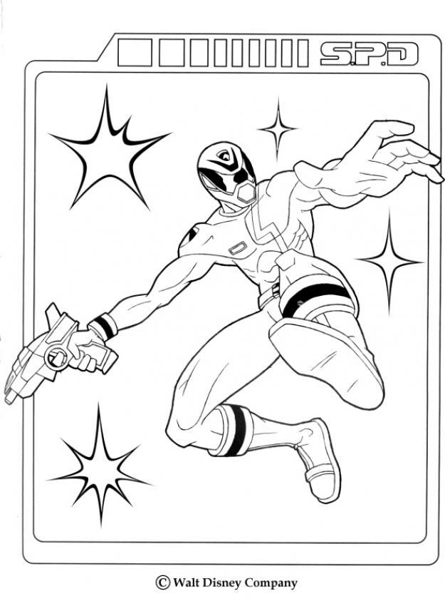 Desenhos para colorir de o ranger ataca - Dessin de power rangers megaforce ...