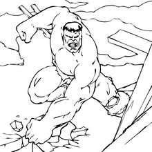 Destrução total pelo Hulk