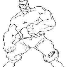 Hulk lutando
