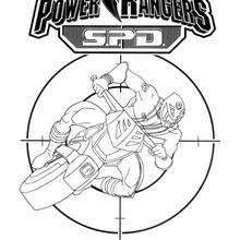 A súper moto dos Rangers