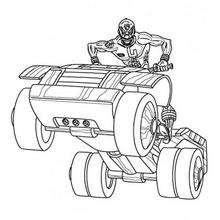O quadricículo dos Power Rangers