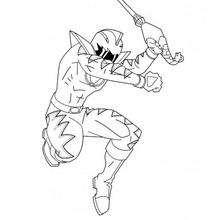 O salto do ninja
