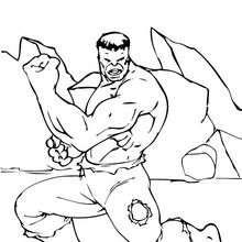 O Hulk tem um par de braços muito forte