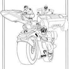 Vehículo dos Power Ranger