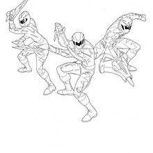Power Rangers luntando