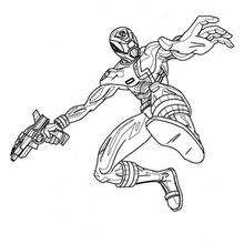 Power Ranger no ar