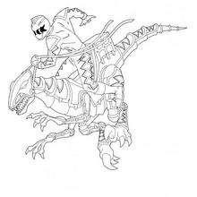Power Rangers e o Robô Dinossauro