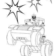 Power Rangers atacando