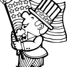O desfile do dia 4 de julho nos EUA