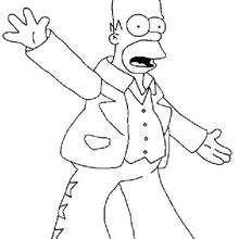 Homer cantando