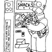 Homer com fome