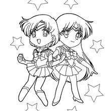 Duas sailor amigas