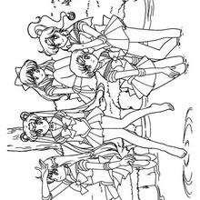 As lindas Sailors juntas