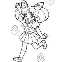 A Sailor Moon quando pequena