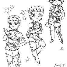 Pequenas guerreiras Sailor
