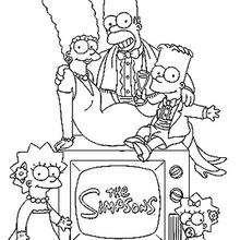 Bart Simpson Desenhos Para Colorir Videos Para Criancas Leia