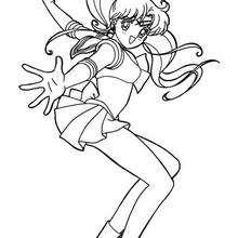 Sailor Moon em ação