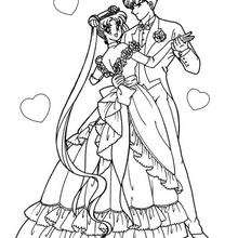 Sailor Moon com o seu namorado