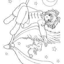 Sakura no meio das estrelas