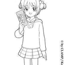 Sakura e a carta mágica