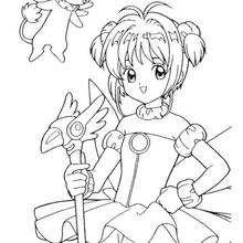 Sakura, a princesa das cartas Clow