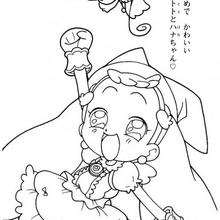 Desenho para colorir da fada Dorie Goodwyn