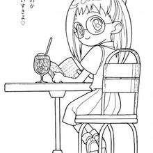 Rere lendo um livro