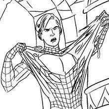 A transformação do Homem-Aranha