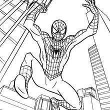 O pulo do Homem-Aranha