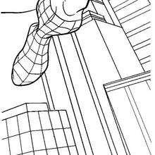marvel, Homem-Aranha saltando pelos edifícios da cidade