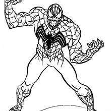 Venom pronta para atacar