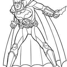 O Batman pronto para agir