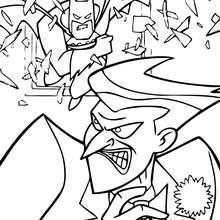 O Batman com o Coringa