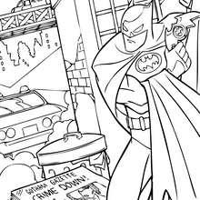 Desenhos Para Colorir De A Mascara Do Batman Pt Hellokids Com