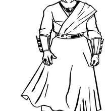 Desenho de um dos inimigos do Batman para colorir
