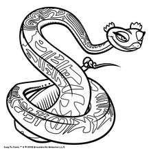 Desenho da charmosa Mestre Víbora