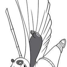O Mestre do Kung Fu: o Panda Po