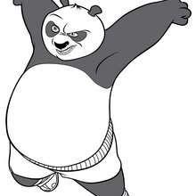 O Panda do Kung Fu furioso