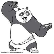 Luta com o Kung Fu Panda