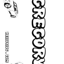 cartaz, Gregory