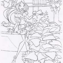 Flora, a fada mágica