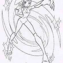 Tecna, a inteligente fada do Clube das Winx